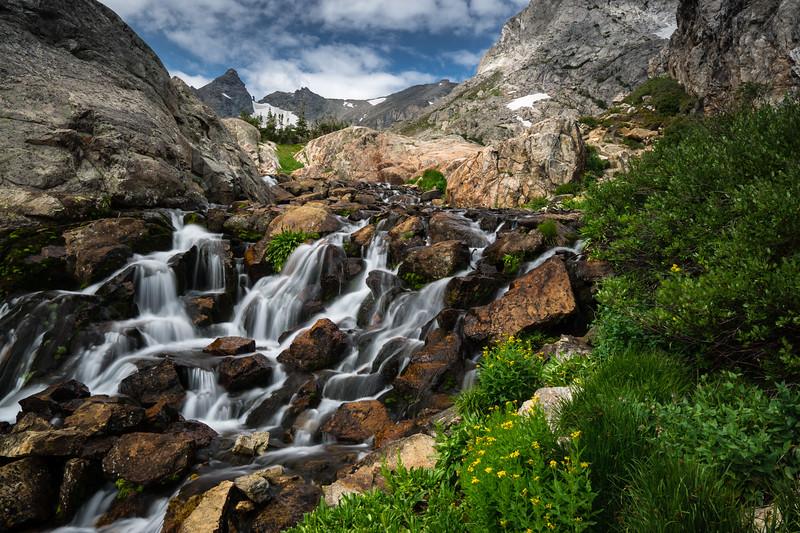 River in Indian Peaks Wilderness