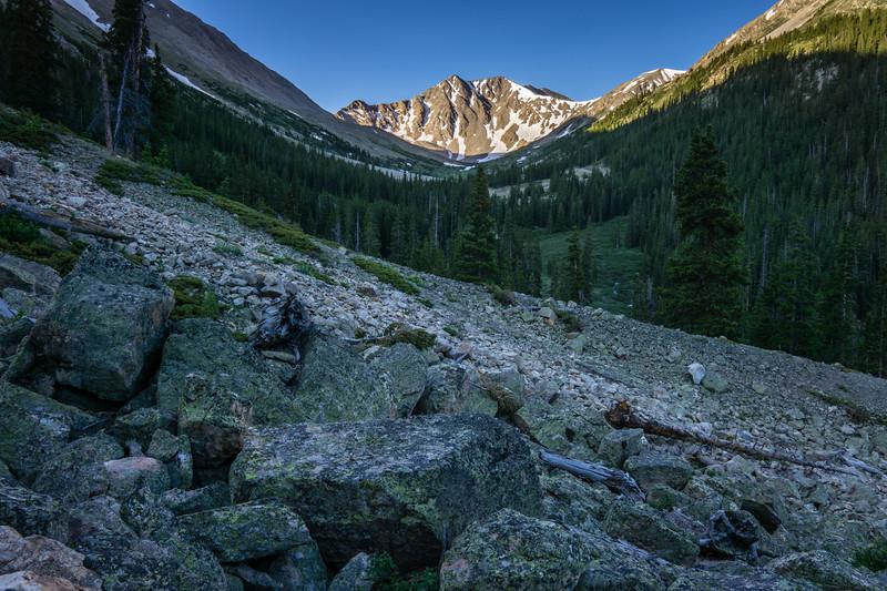 Morning Hike on La Plata Peak - Colorado