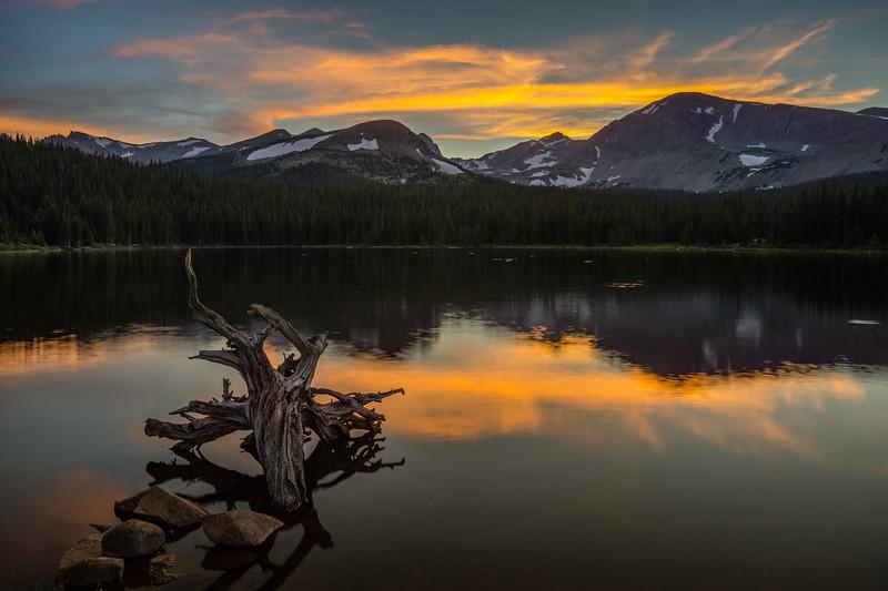 Brainard Lake Sunset