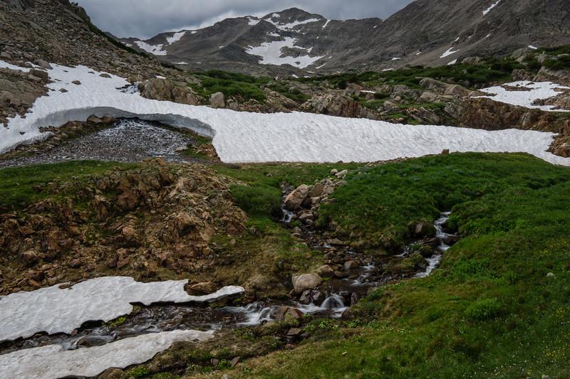 Spring Runoff in the Rockies