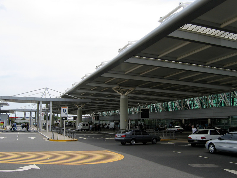 Eziza International Airport in Buenos Aires.