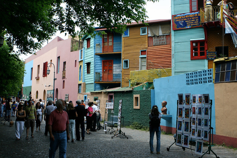 La Boca is a neighborhood, or barrio of the Argentine capital, Buenos Aires. It retains a strong European flavour, with many of its early settlers being from the Italian city of Genoa.