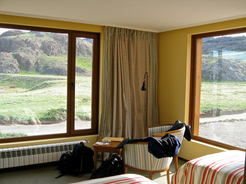 All rooms feature large picture windows looking out onto the Fitzroy.