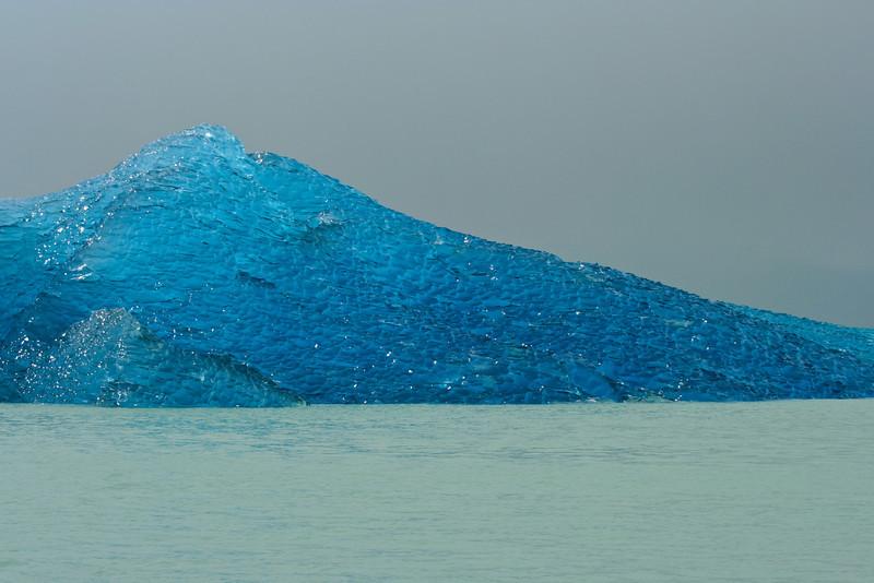 An iceberg broken off of the Viedma Glacier, the largest glacier in South America - El Chalten, Argentina