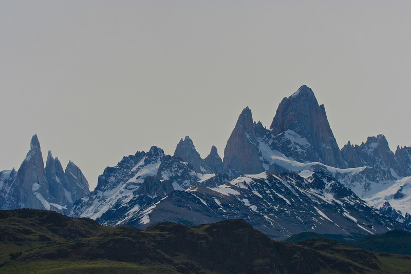 On the northern extreme of the park, the granite peaks, lakes, woods and glaciers become all together one of the most extraordinary places of the world. The highest mountains are Mt. Fitz Roy (3405m) and Mt. Torre (3102 m). In this scenario, the small village of El Chaltén, gives shelter to the climbers and trekkers of all around the world.