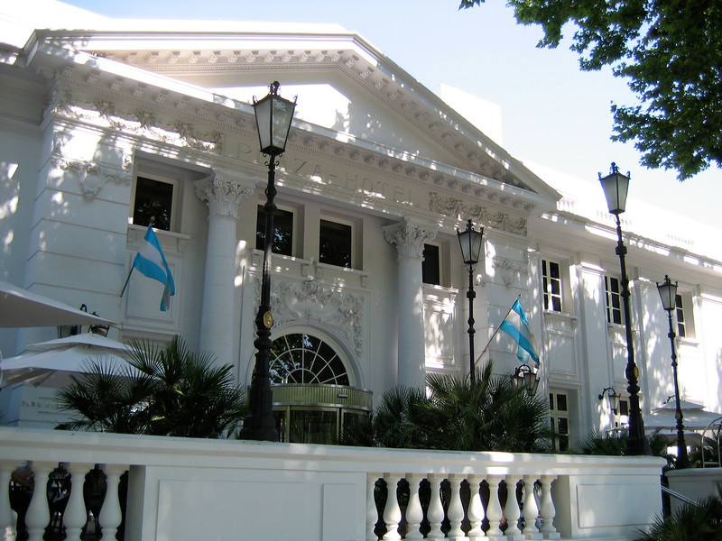 The Park Hyatt Mendoza is located downtown on the Plaza Independencia.