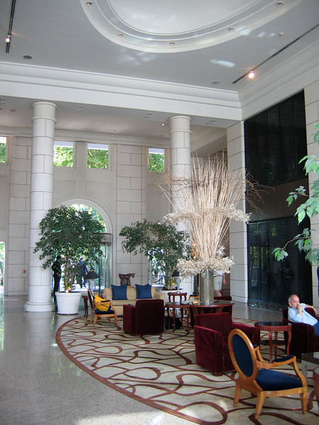The hotel is one of the nicest properties in Mendoza and is about 20 minutes from the airport.