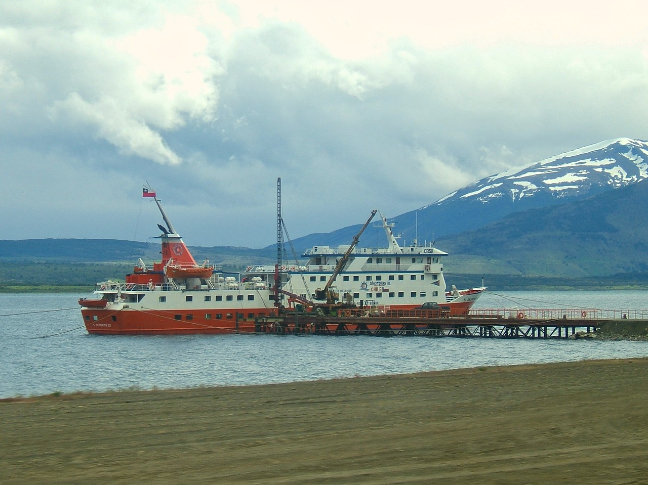 Puerto Natales is a city of 20,000 located along the route to Explora.