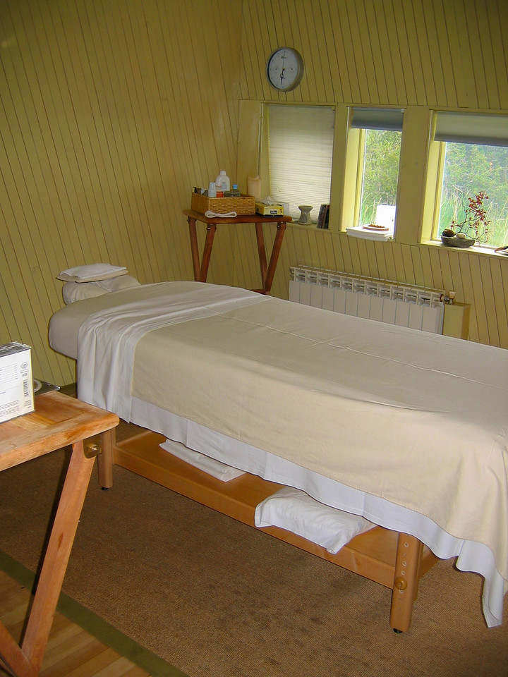 You can also have a massage in one of the treatment rooms...