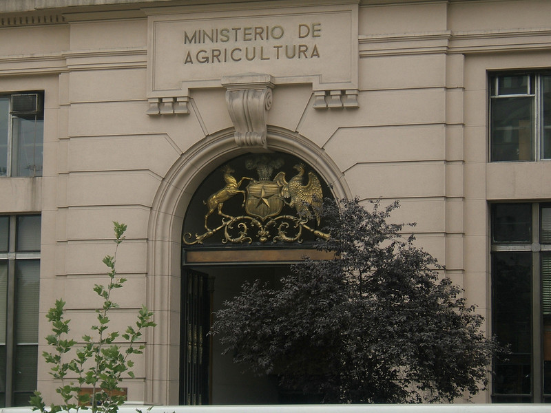 Agricultural Ministry building.