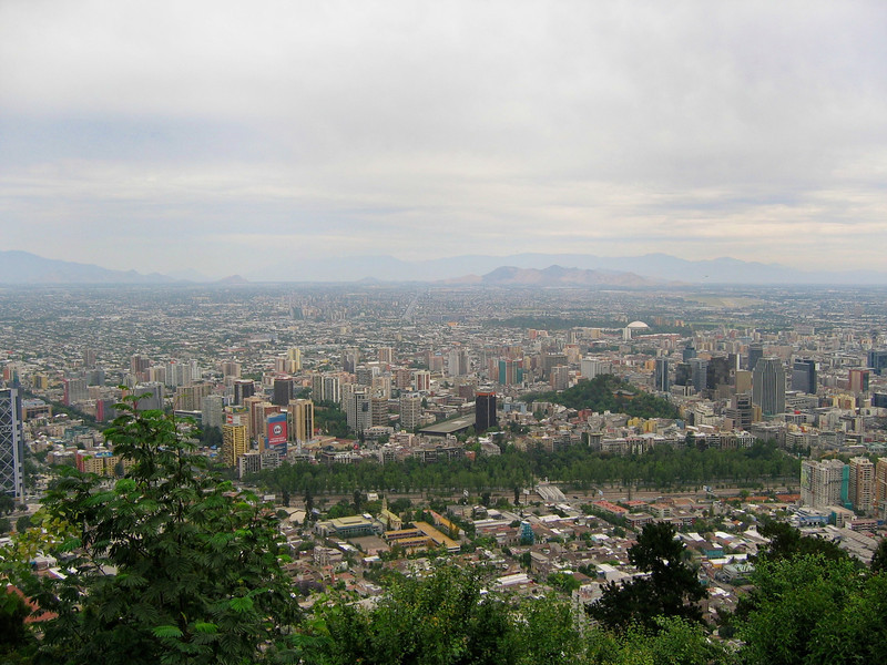 """Cerro San Cristóbal (San Cristóbal Hill) rises 880 m above sea level and about 300 m above the rest of Santiago; the peak is the second highest point in the city, after Cerro Renca. Cerro San Cristóbal was named by the spanish- chilean San Cristóbal family, although it´s original name is Tupahue (mapudungun: """"place of god or gods). The San Cristóbal family held a quarry on the hills south side, close to the Mapocho river. That´s the reason why it is called San Cristóbal even if it has a statue of Virgin Mary on the top. The lime stone from the quarry was used in the building of the first contentions of the Mapocho river and also in it´s bridges."""