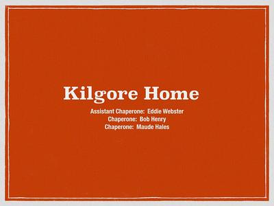 Kilgore Home