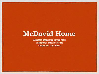 McDavid Home