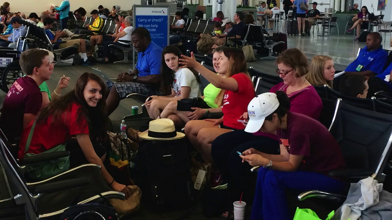 Dominican Republic 2014 Mission Trip Days 1 & 2