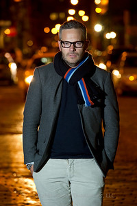 Tyler Brule Portrait Monocle Editor-in-chief and Chairman. Location: Crosby Hotel, Soho  Photo credit: Shahar Azran