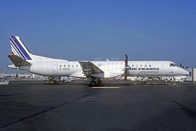 Air France Express - Regional Airlines SAAB 2000 F-GMVD (msn 034) CDG (Christian Volpati). Image: 951590.