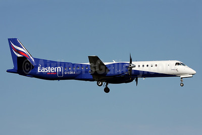 Eastern Airways SAAB 2000 G-CDKA (msn 006) ARN (Ole Simon). Image: 903363.