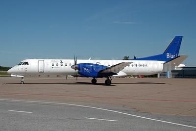 Blue1 SAAB 2000 OH-SAX (msn 055) ARN (Ton Jochems). Image: 953325.