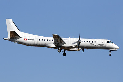 SkyWork's first SAAB 2000, delivered June 29, 2016