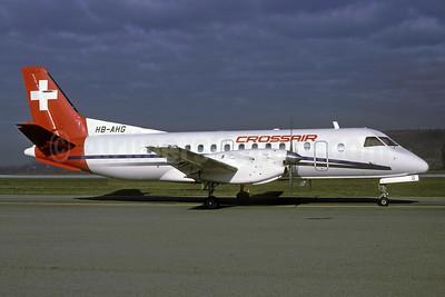Crossair SAAB 340A HB-AHG (msn 038) ZRH (Rolf Wallner). Image: 925798.