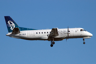 Air New Zealand Link-Air Nelson SAAB 340A ZK-NLE (msn 067) AKL (Colin Hunter). Image: 900338.