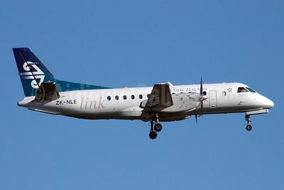 Air New Zealand Link-Air Nelson SAAB 340A ZK-NLE (msn 067) AKL (Colin Hunter). Image: 900338.