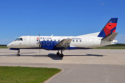 Delta Connection-Mesaba Airlines SAAB 340B N450XJ (msn 450) APN (Bruce Drum). Image: 102089.