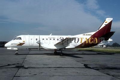 Aerotaca Colombia SAAB 340B HK-4088X (msn 251) BOG (Christian Volpati). Image: 950526.