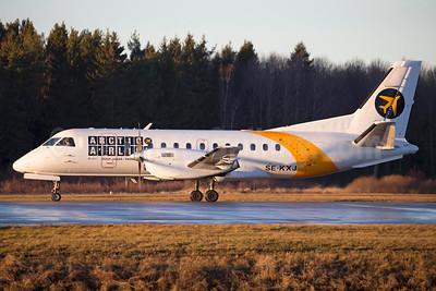 Arctic Airlink (Next Jet) SAAB 340B SE-KXJ (msn 189) ARN (Stefan Sjogren). Image: 936263.