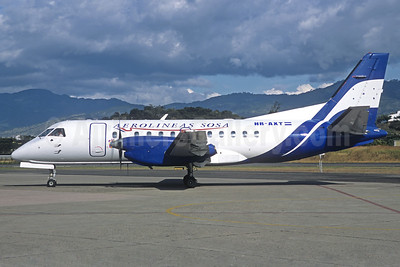 Aerolineas Sosa SAAB 340B HR-AXT (msn 267) TGU (Michel Saint-Felix). Image: 925958.