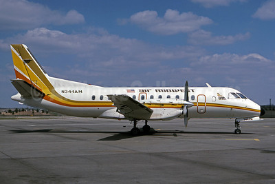 Air Midwest (USA) SAAB 340A N344AM (msn 030) MCI (Denis Goodwin - Bruce Drum Collection). Image: 100924.