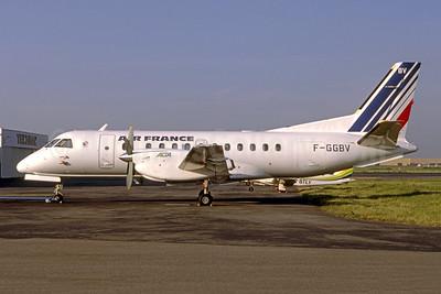 Air France - ALTA (Air Limousin Transport Aérien 2nd) SAAB 340A F-GGBV (msn 86) TLS (Francois Coustols - Bruce Drum Collection). Image: 951555.