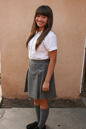 VIVA'S FIRST DAY AT SACRED HEART • 08.16.12