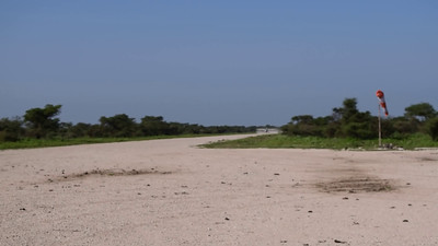 Coastal's Cessna Caravan takes off from Ndutu