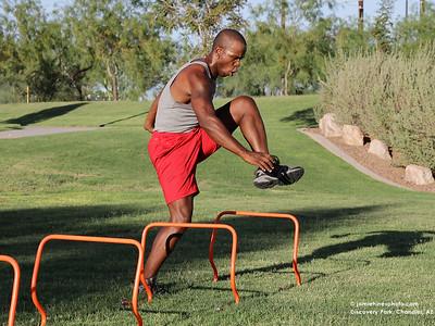Fitness: Coach Dewayne: Park Workout