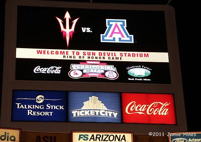 ASU 21 vs. Arizona 31