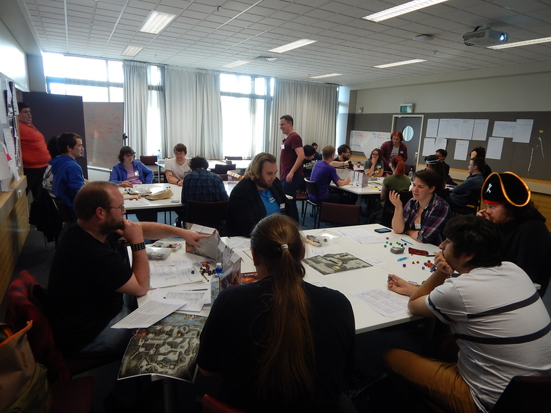 Saturday: Vault of the Dracolich megagame