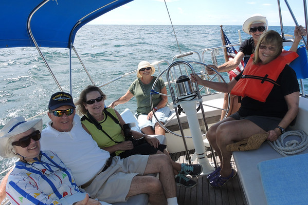 SAILING ON REFLECTION; Hosted by Admiral Paula Mealey and Howard Hobart.