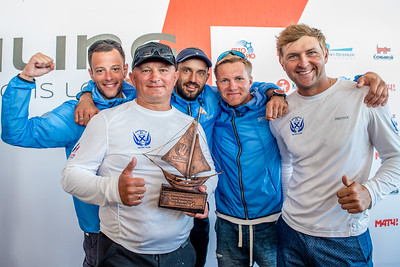 3rd place: Navigator Sailing Team, Russia © SCL/Andrey Sheremetev