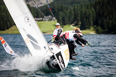 SAILING CHAMPIONS LEAGUE FINAL / ST MORITZ 2019 ©TOMAS MOYA/ SAILING ENERGY / SCL 2019 Free Editorial Rights  15 August, 2019.