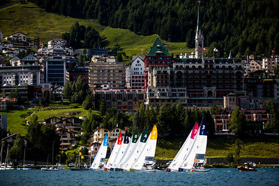 SAILING CHAMPIONS LEAGUE FINAL / ST MORITZ 2019 ©TOMAS MOYA/ SAILING ENERGY / SCL 2019 Free Editorial Rights  16 August, 2019.