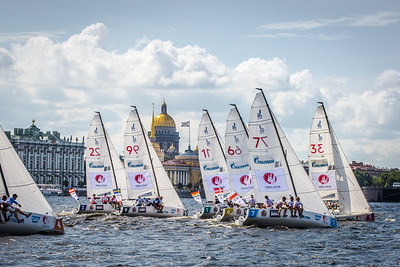 Fleet in St. Petersburg at Semifinal 2 in Season 2018