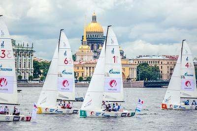 Fleet at Qualifier 3 in St. Petersburg