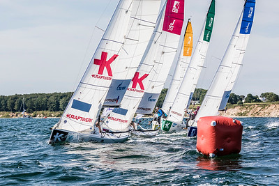 Fleet at Youth SAILING Champions League 2019