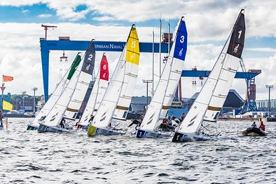 German Sailing League in the heart of Kiel © SAILING Champions League/Lars Wehrmann