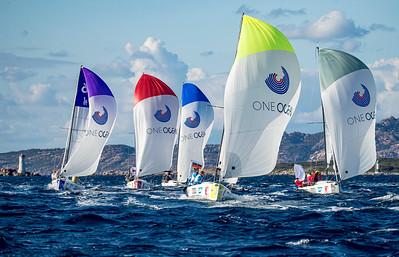 The fleet in Porto Cervo 2020 © SAILING Champions League / SAILING ENERGY