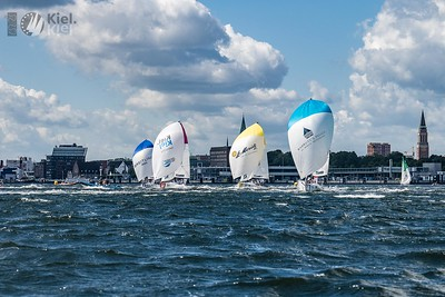 """Use only with copyright """"SCL / Lars Wehrmann"""", please tag @sailing_champions_league and @kielsailingcity."""