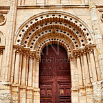 Zamora Cathedral door in Spain Via de la Plata