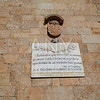 Salamanca Memorial to writer Cervantes