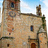 Caceres San Mateo church in Spain